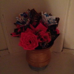 Duct Tape Bouquet
