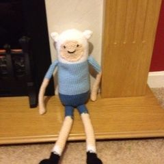 Finn The Human Crochet Doll