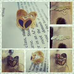 Angel Heart Couple Ring