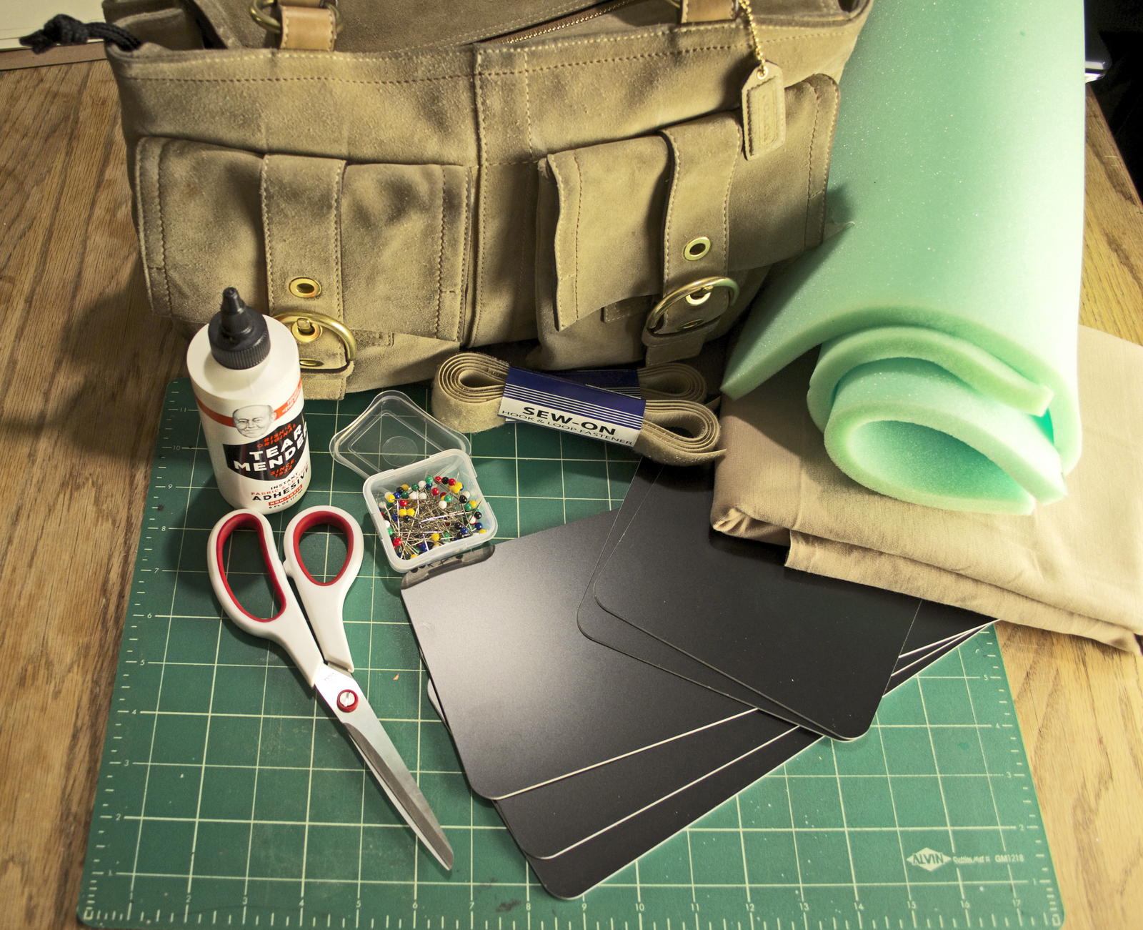 Diy Camera Bag · How To Make A Pouch, Purse Or Wallet · No ...