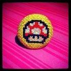 Geeky Cross Stitch Rings