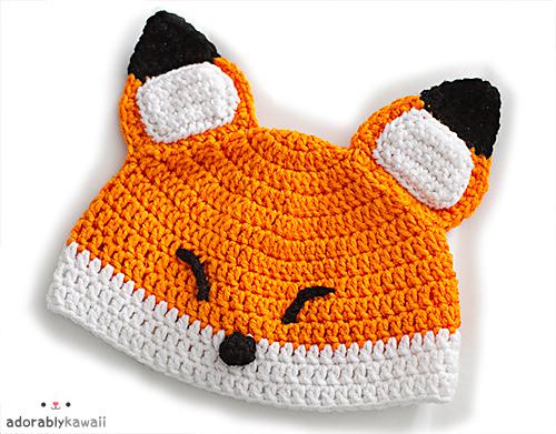 Sleepy Fox Baby Hat · An Animal Hat · Sewing And Crochet