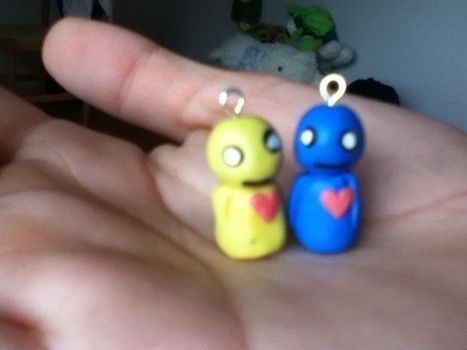 Pon And Zi Phone Charms · How To Mold A Clay Character · Art