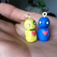 Pon And Zi Phone Charms