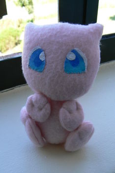 .  Make a Mew plushie by sewing Inspired by gifts, pokemon, and costumes & cosplay. Version posted by Lauren. Difficulty: 3/5. Cost: 3/5.
