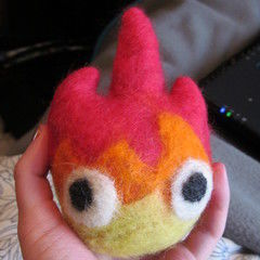 Felted Calcifur Plush