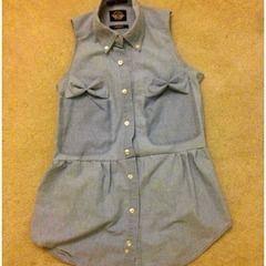 Refashioned Men's Button Up