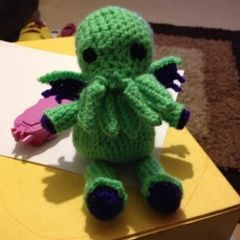 Little Crochet Cthulhu