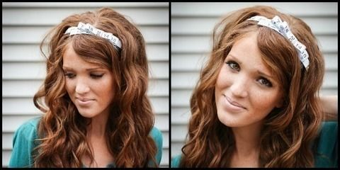 A really fun and easy DIY that is perfectly cute and creative .  Free tutorial with pictures on how to recycle a tape measure headband in under 15 minutes by jewelrymaking with scissors, hot glue gun, and hair band. How To posted by emilymeyers13. Difficulty: Simple. Cost: Absolutley free. Steps: 6