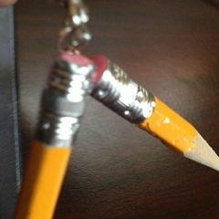 Secretary Pencil Earrings