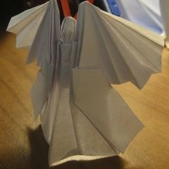Origami Angel Christmas Ornament