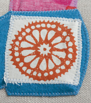 Folk Art Needlecraft .  Free tutorial with pictures on how to stitch a knit or crochet rug in under 120 minutes by needleworking, needlepointing, and sewing with fabric, fabric, and fabric. How To posted by Ryland Peters & Small. Difficulty: 3/5. Cost: Cheap. Steps: 10