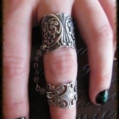 Filigree Chain Ring (Aka Slave Ring)