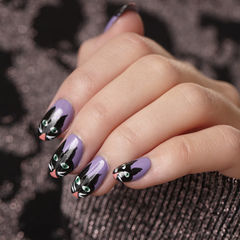 Crazy Cat Woman Nails