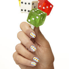 Polka Dot Power Nails
