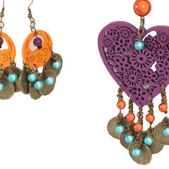 Gypsy Chic Necklace And Earrings