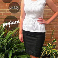Easy Peasy Peplum