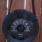 Vinyl Record Purse 7in