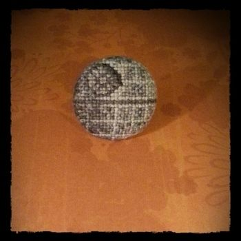 .  Make a fabric ring by jewelrymaking and cross stitching Inspired by star wars. Version posted by Owly Sh*t. Difficulty: Simple. Cost: Cheap.