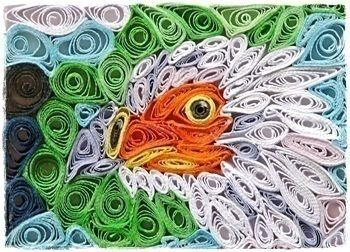 Just for the love of ATCs and Quilling .  Free tutorial with pictures on how to fold a piece of quilled art in 2 steps by papercrafting, cardmaking, collage, and quilling with glue, colored paper, and quilling tool. Inspired by birds. How To posted by Artistically.  in the Papercraft section Difficulty: 3/5. Cost: Absolutley free.