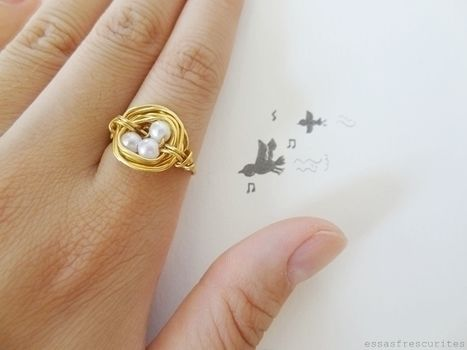 Bird Nest Ring Tutorial