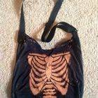 Ribcage Bleached Hobo Bag
