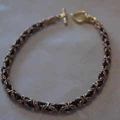 Byzantine Weave Chainmaille Bracelet