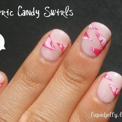 Geometric Candy Swirls