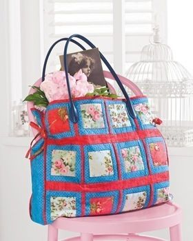 Patchwork Bags .  Free tutorial with pictures on how to sew a patchwork tote in 9 steps by patchworking and machine sewing with cotton and wadding. How To posted by Search Press. Difficulty: Simple. Cost: Cheap.