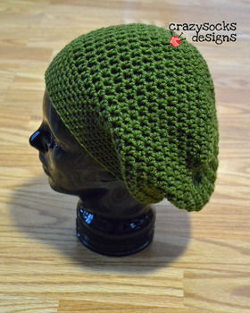 Channel your inner hippie.. .  Free tutorial with pictures on how to make a slouchy beanie in under 60 minutes by knitting with scissors, crochet hook, and crochet hook. How To posted by crazysocksdesigns.  in the Yarncraft section Difficulty: Easy. Cost: Cheap. Steps: 1