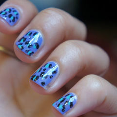 Pastel Coloured Leopard Print Nails Tutorial