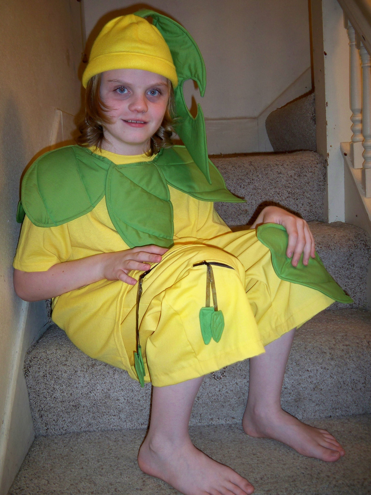 Make a full costume by sewing with fabric t shirt ...  sc 1 st  Cut Out + Keep & Bayleef · A Full Costume · Sewing on Cut Out + Keep · Creation by ...