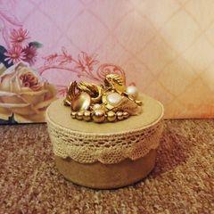 Vintage Style Jewelry Box