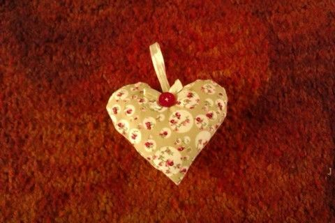 Easy to do with any scraps of matirial!! .  Make a shape plushie in under 30 minutes by embroidering and sewing with ribbon, buttons, and material. Inspired by gifts, hearts, and hearts. Creation posted by .  in the Needlework section Difficulty: 3/5. Cost: 3/5.