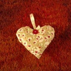 Cute Fabric Heart!