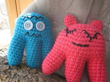 Three legs are better than two .  Make a food plushie in under 120 minutes by yarncrafting, crocheting, and amigurumi with yarn and crochet hook. Inspired by gifts, domo kun, and domo kun. Creation posted by Amanda M.  in the Yarncraft section Difficulty: Easy. Cost: Absolutley free.