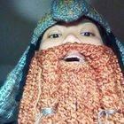 Lot R: Gimli Crochet Helm And Beard