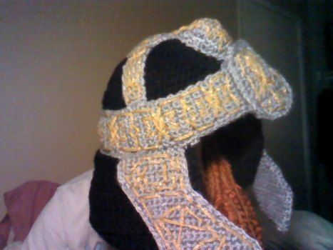 Even the dwarf women have beards .  Make a bearded hat by crocheting with yarn, yarn, and yarn. Inspired by costumes & cosplay and clothes & accessories. Creation posted by Smercurial.  in the Yarncraft section Difficulty: Easy. Cost: 3/5.