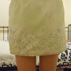 Upcycled Tulip Flower Skirt