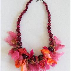 Ribbon Tie Necklace