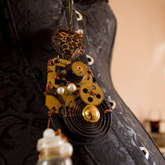 Time Traveller's Steampunk Necklace
