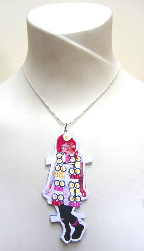 Twinkie Chan Paper Doll Necklace 183 How To Make A Paper