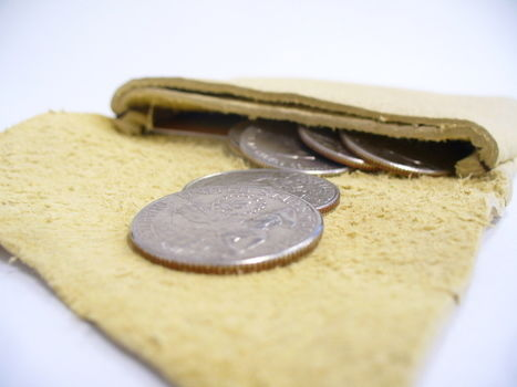 Beautifully soft supple card / coin holder perfect for a present .  Make a paper wallet in under 60 minutes by needleworking with leather. Inspired by gifts and clothes & accessories. Creation posted by sneezerville.  in the Needlework section Difficulty: Simple. Cost: 3/5.
