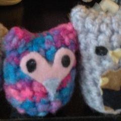 Amigurumi Owl Family