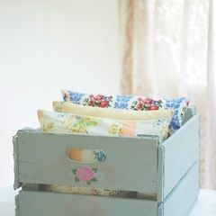 Stencilled Storage Crate