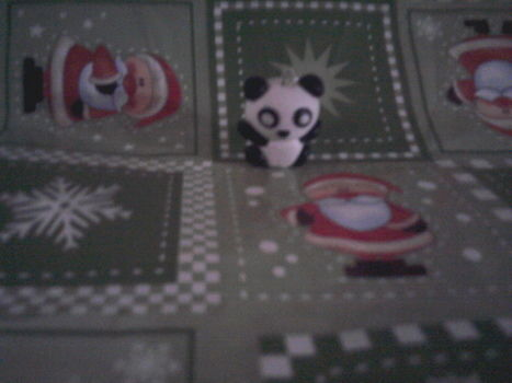 Just a little bit of FIMO and fantasy :D .  Sculpt a clay panda in under 30 minutes by spraypainting, constructing, and decorating with fimo, fimo, and eye pin loop. Inspired by kawaii. Creation posted by karmy_2683.  in the Decorating section Difficulty: Simple. Cost: Cheap.