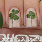 Pressed Flower Nail Art