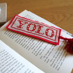 Sew Your Own Yolo Bookmark