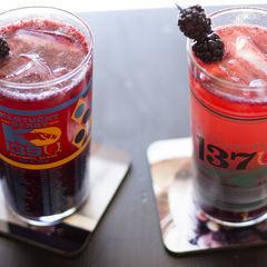 Bourbon Blackberry Bramble