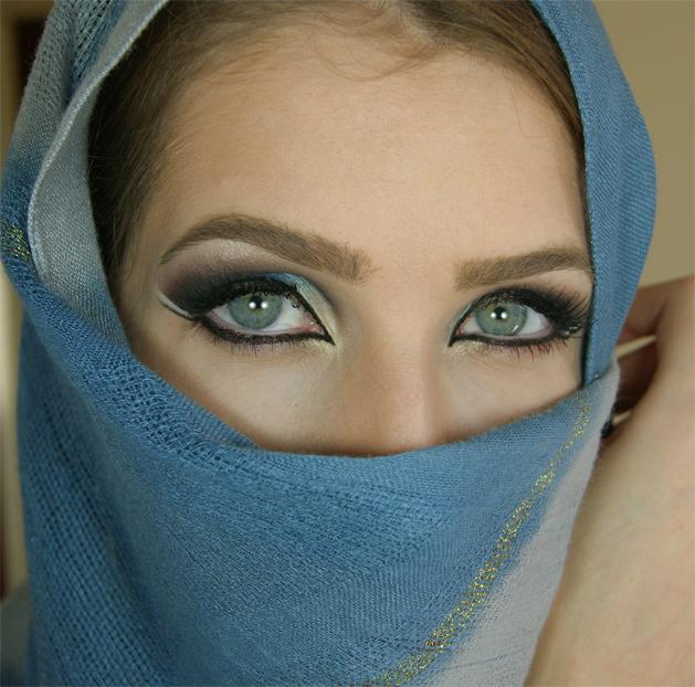 arabic eye makeup 183 how to creat an arabic eye makeup look